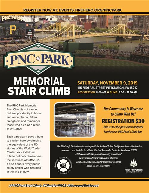 NFFF PNC Stair Climb Flyer